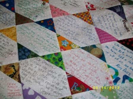 Brief History of Quilts - From Functional to Fashionable ... : quilting signature tags - Adamdwight.com